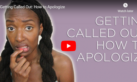 How to Apologize When You Get Called Out